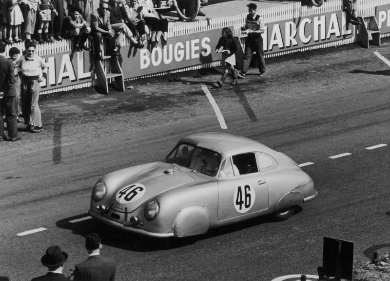 Porsche At Le Mans In The 1950s History Photos Profile