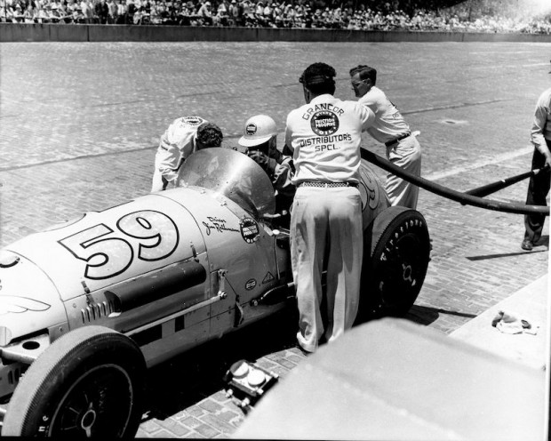 Jim Rathmann finished 2nd in the 1952 Indy 500 driving a Granatelli entry