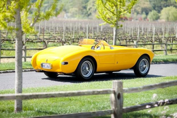 1952 Ferrari 340 America Rear chassis no. 0140A