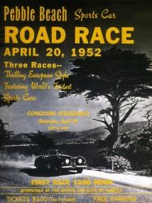 1952 Pebble Beach Road Race Program