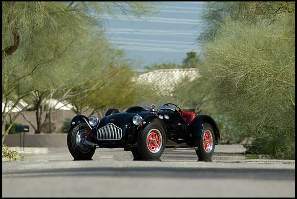 <strong>1952 Allard J2 Roadster</strong> – Raced by Carroll Shelby