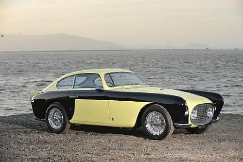 """<strong>1952 Ferrari 212 Inter Vignale Coupe – Estimate $1,000,000 - $1,300,000. </strong>""""Bumblebee"""""""