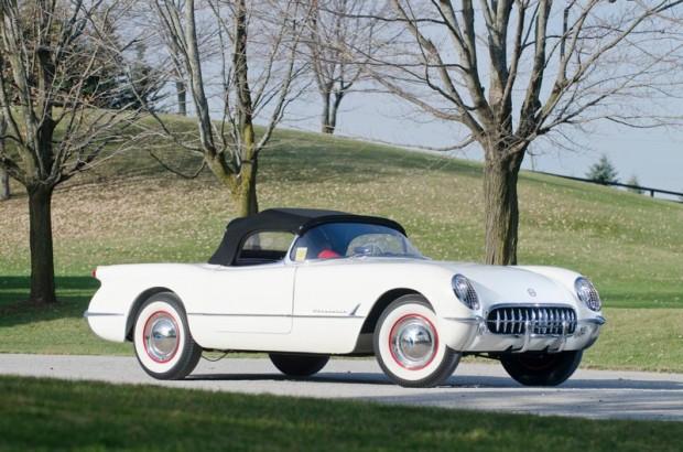 1953 Chevrolet Corvette production number five