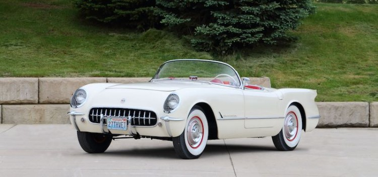 1953 Chevrolet Corvette Roadster with less than 4,000 miles