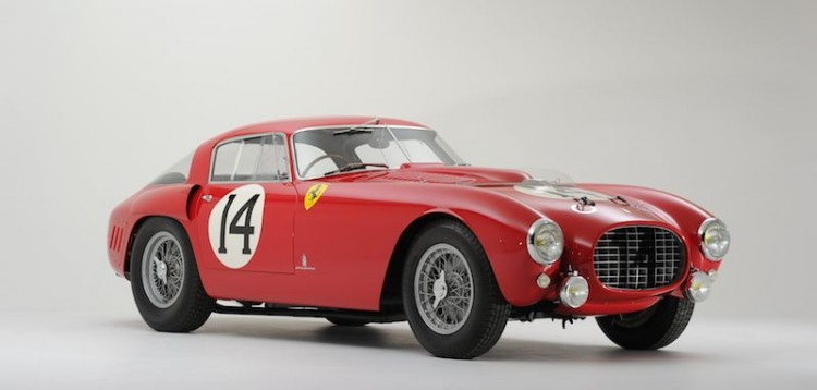 1953 Ferrari 375 MM, chassis 0320AM
