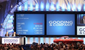1953 Fiat 8V Supersonic at Gooding Scottsdale 2011