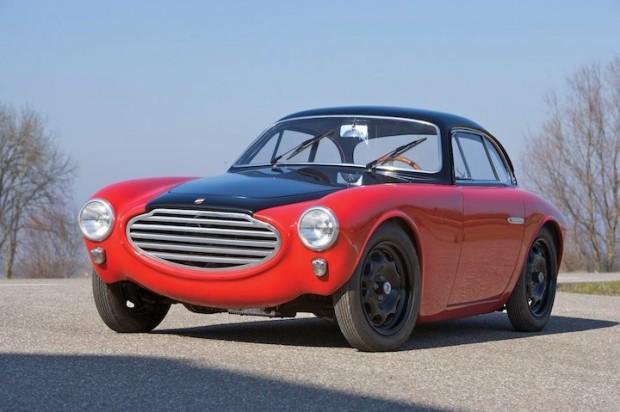 1953 Moretti 750 Gran Sport Berlinetta by Michelotti