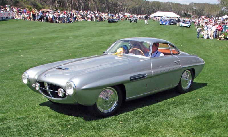 1953 Fiat 8V Supersonic, David and Ginny Sydorick, Beverly Hills, CA