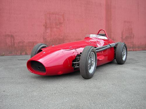 1954-56-type 2.5-Litre Maserati 250F Tipo 1 by Cameron Millar