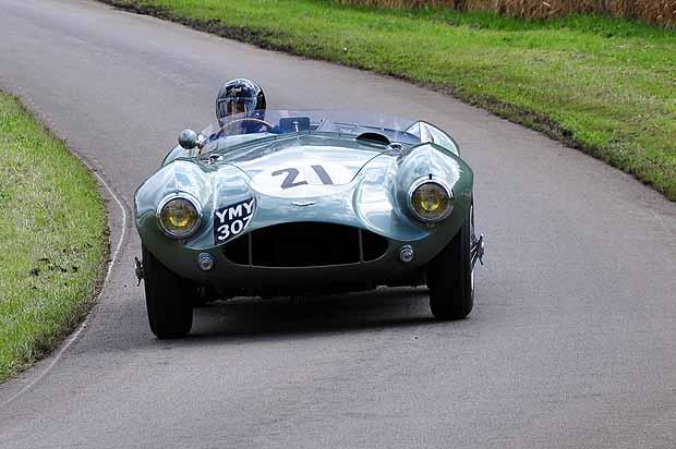 1954 Aston Martin DB 3S driven by Brian Classic