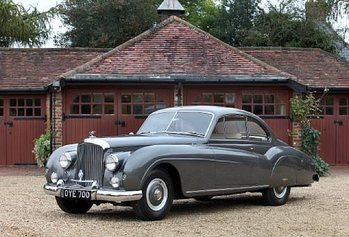 <strong>1954 Bentley R-Type 4.6-Litre Coupe sold for £109,300 versus pre-sale estimate of £40,000-50,000.</strong>
