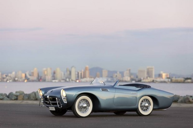 1954 Pegaso Z-102 Series II Cabriolet by Saoutchik