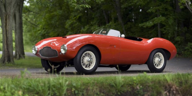 <strong>1954 Aston Martin DB2/4 Competition Spider – Estimate Unavailable.</strong> One of three originally produced. From Michael Schudroff Collection.
