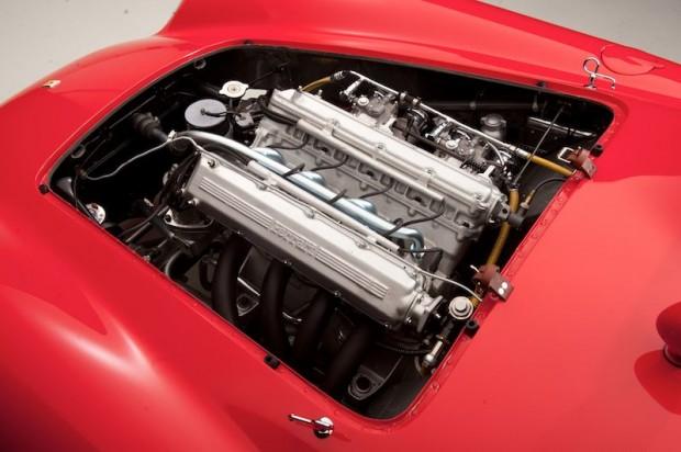 1955 Ferrari 750 Monza Scaglietti Spider Engine