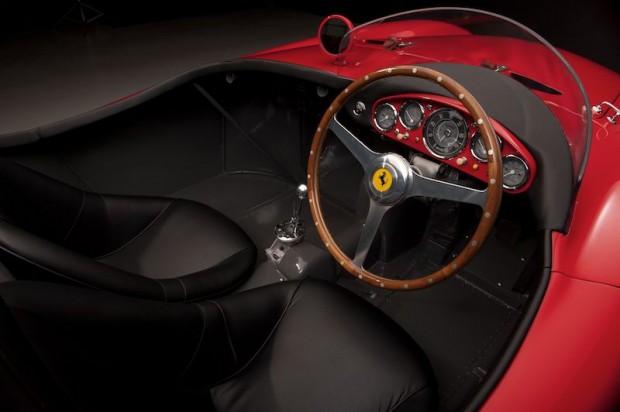 1955 Ferrari 750 Monza Scaglietti Spider Interior