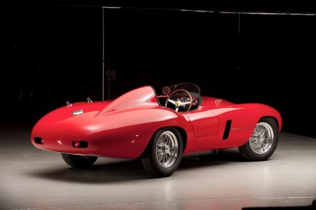 1955 Ferrari 750 Monza Scaglietti Spider Rear