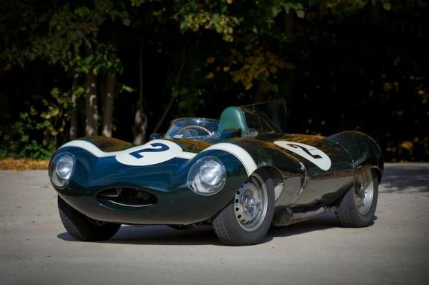 1955 Jaguar D-type ; S/N XKD 558