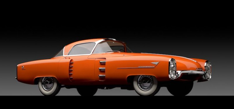 1955 Lincoln Indianapolis Boano Coupe