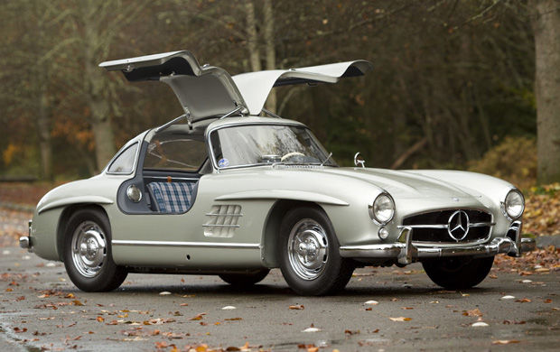 1955 Mercedes 300 SL Alloy Gullwing