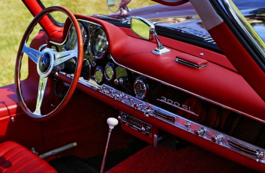 1955 Mercedes-Benz 300SL Gullwing Interior