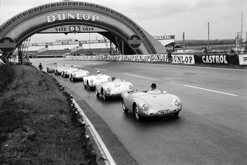 Porsche At Le Mans In The 1950s History Photos Profile