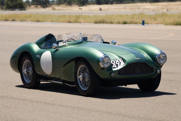 <strong>1955 Aston Martin DB3S - Estimate $1,750,000 - $2,250,000.</strong> DB3S/104 is one of 20 'customer' DB3Ss, and one of only 31 examples built in total, including the Works team cars; unbroken ownership history and FIA papers.