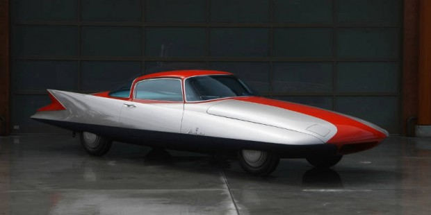 <strong>1955 Ghia Streamline X 'Gilda' – Estimate $1,000,000 - $1,300,000.</strong> One-off 1955 Turin Auto Show car powered by a 70 HP gas turbine engine.