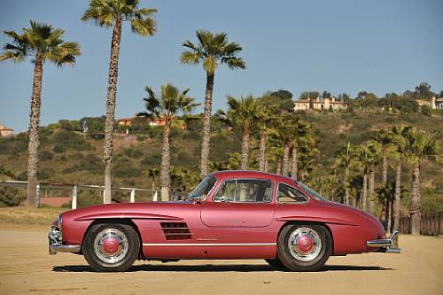 <strong>1955 Mercedes-Benz 300SL Gullwing – Estimate $500,000 - $600,000.</strong> Formerly owned by Clark Gable. Offered without reserve.