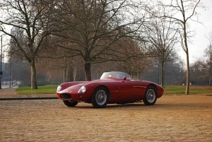 This 1955 OSCA MT4 Roadster sold for $477,945 during Bonhams' Automobiles d'Exception à Retromobile sale held February 7th, 2009 in Paris.