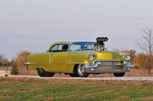 1956 Cadillac Coupe Deville Pro Street