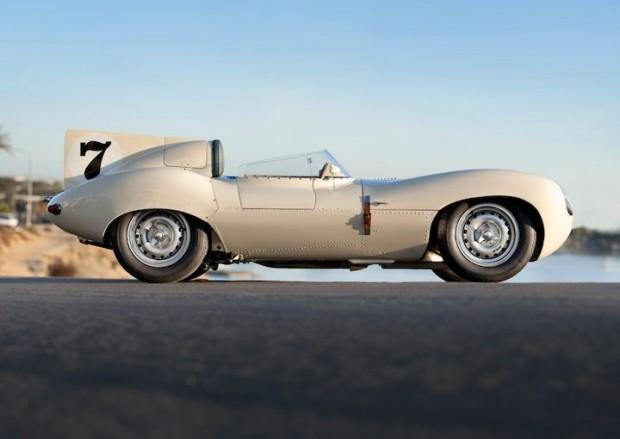 1956 Jaguar D-Type XKD528 Side