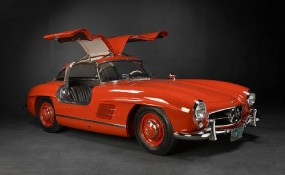 1956 Mercedes-Benz 300SL Gullwing Coupe Sold for $430,000