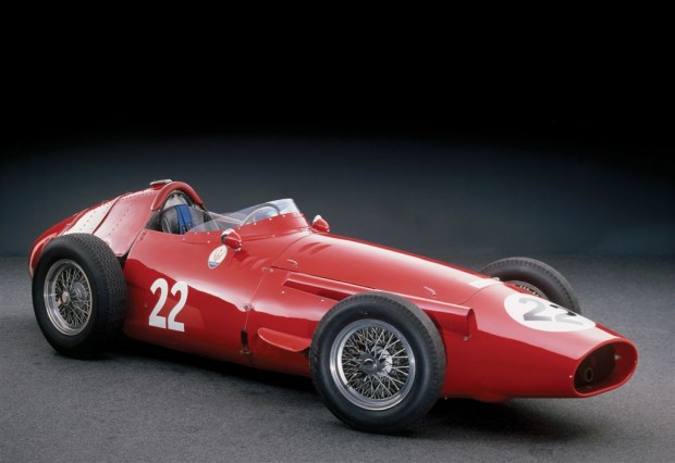 <strong>1956 Maserati 250F Grand Prix Car – Estimate €1,700,000 – €2,200,000.</strong> Chassis number 2526 was driven to victory at the 1956 Monaco Grand Prix by Stirling Moss.