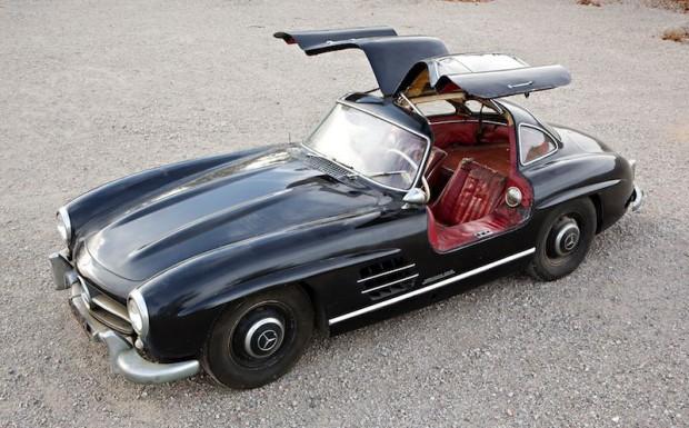 1956 Mercedes-Benz 300 SL Gullwing Barn Find