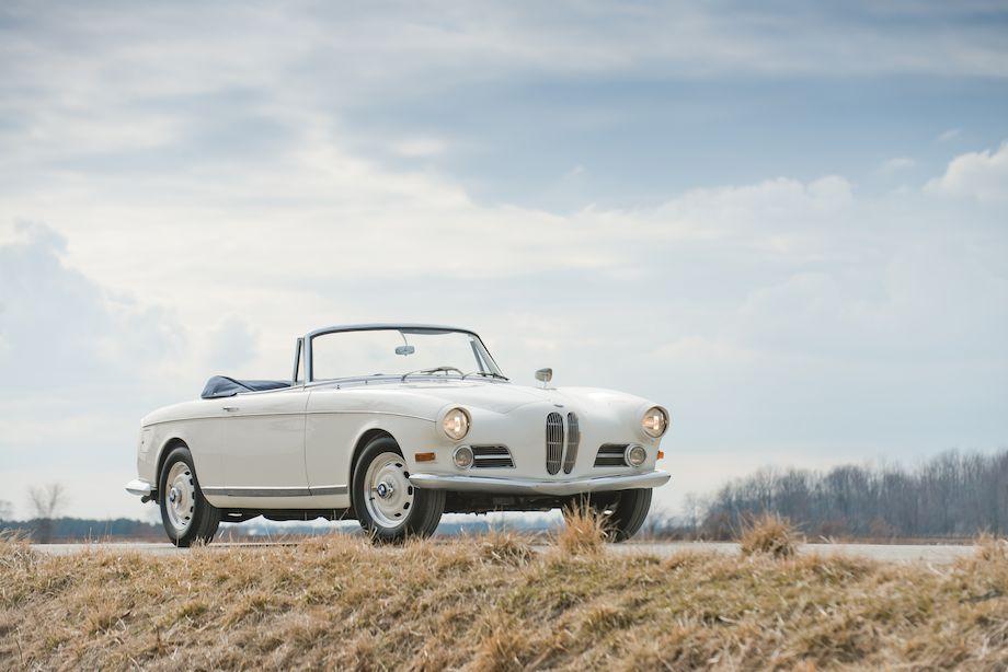 1957 BMW 503 Cabriolet Bertone