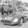 Wolfgang von Trips drove the Ferrari 335 S Scaglietti Spider, chassis 0674, to second overall at the 1957 Mille Miglia (photo: Ted Walker, Ferret Fotographic)