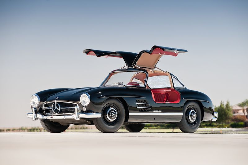1957 mercedes-benz 300sl gullwing - sports car digest - the sports