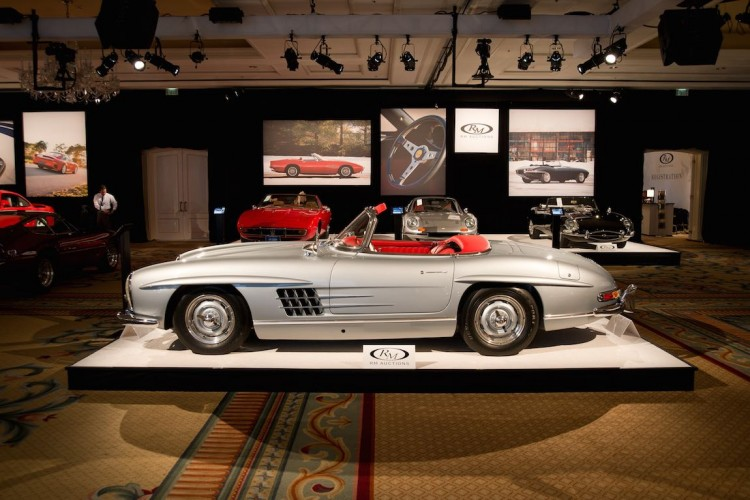 1957 Mercedes-Benz 300SL Roadster at RM Amelia Island