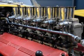 1958 Ferrari 250 Testa Rossa 0738 TR Engine Detail