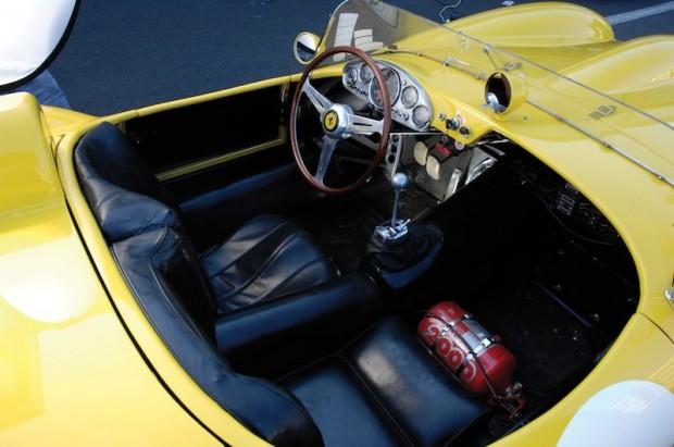 1958 Ferrari 250 Testa Rossa 0738 TR Interior