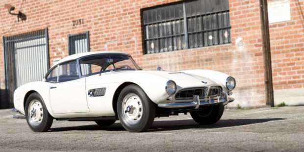 <strong>1958 BMW 507 Series II – Estimate $750,000 - $900,000.</strong> Extensive documentation and only two owners and 27,000 miles from new.