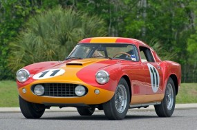 1959 Ferrari 250 GT TdF won its class at 1959 24 Hours of Le Mans