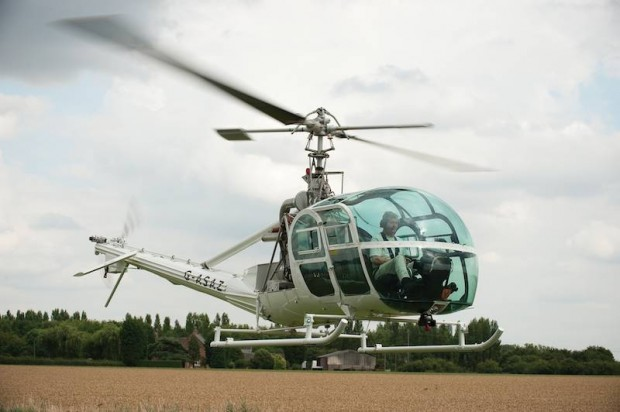 Hiller UH-12 E4 Helicopter