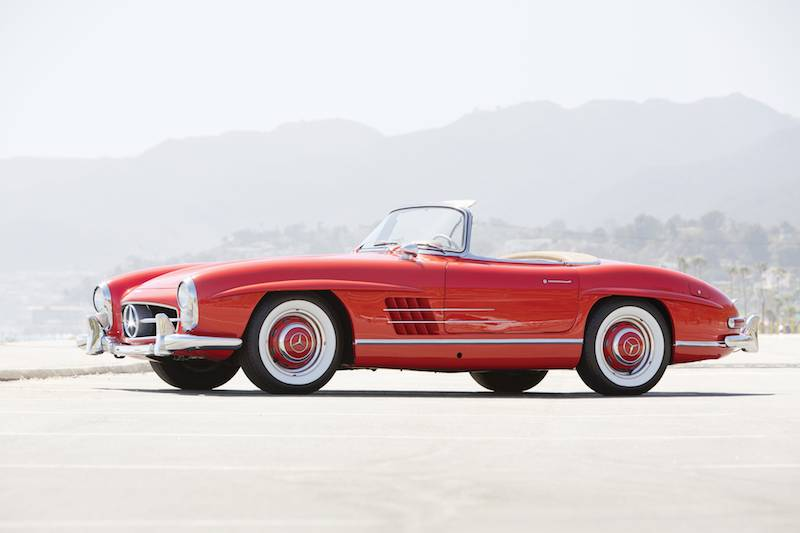 Auctions america southern california 2014 auction results for Mercedes benz southern california
