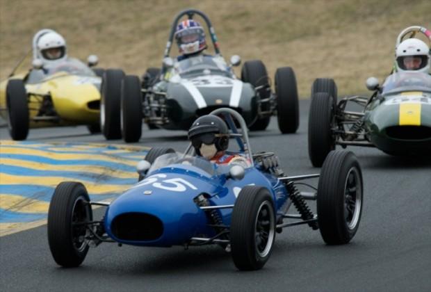 1960 Kieft F-Jr. Marc Nichols, #54 1962 Lotus 22 F-Jr. Philip R. Trenholme, #33 1961 Cooper T-56 F-Jr. #127 1963 Lotus 27 F-Jr. Jeremy Nickel