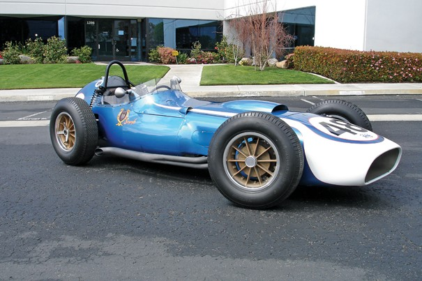 <strong>1960 Scarab Grand Prix Race Car – Estimate $750,000 - $850,000.</strong> Ex-Lance Reventlow, Chuck Daigh and Richie Ginther chassis GP-2.
