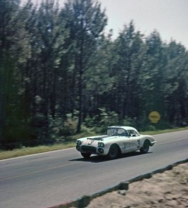 #3 Cunningham Corvette won its class and placed eight overall in the grueling 24 Hours of Le Mans in 1960
