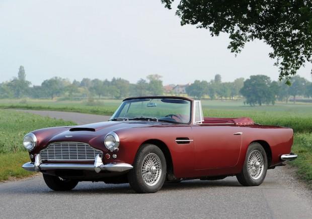 1961 Aston Martin DB4 Vantage Convertible