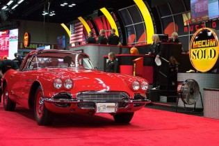 1961 Chevrolet Corvette sold for $115,000