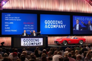 1961 Ferrari 250 GT SWB California Spider sold for $16,830,000